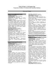 Civil, Industrial and Agricultural Buildings - Facultatea de Mecanica ...