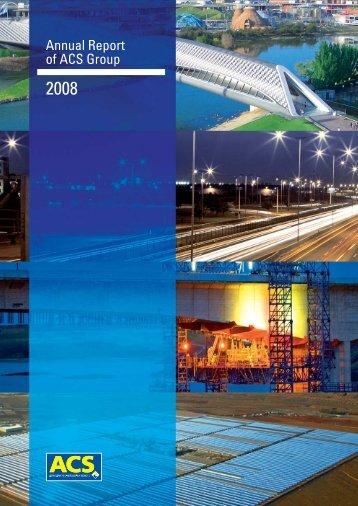 Activity Report - Grupo ACS