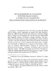 Paladino L., Un'acquisizione al catalogo di Pietro Paolo