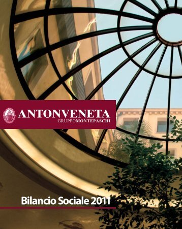 Bilancio Sociale 2011 - Banca Antonveneta
