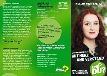 Flyer (PDF) - Agnieszka Brugger