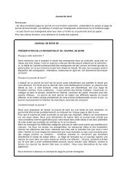 Journal de bord - Educmath