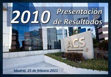 ANÁLISIS DE LA COMPETENCIA - Grupo ACS