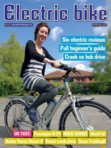 Issue Three - Summer 2011 - Electric Bike Magazine