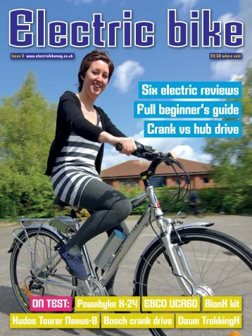 Issue Three - Summer 2011 - Electric Bike Magazine
