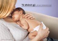 Të dhënit gji– një start i shëndetshëm në jetë - Geburtshilfe