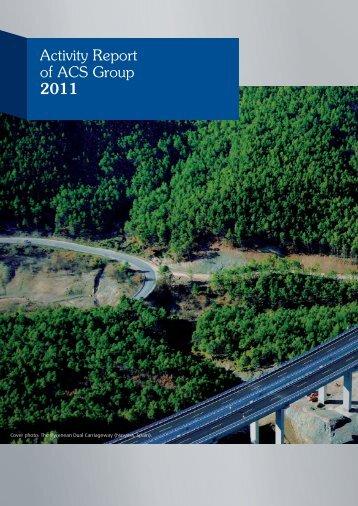 ACS 2011 Activity Report pdf.indd - Grupo ACS