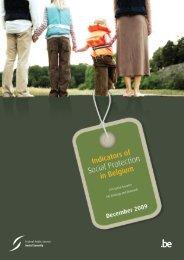 Indicators of social protection in Belgium