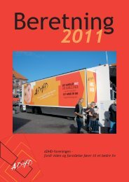 Årsberetning 2011 - ADHD: Foreningen