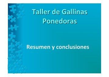 Resumen taller ponedoras - Gil, P.pptx - WPSA
