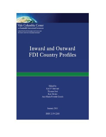 Inward and Outward FDI Country Profiles - Vale Columbia Center on ...