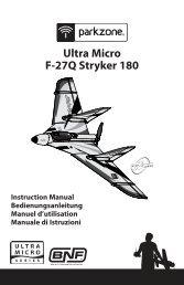 31217 PKZ UM F-27Q Stryker 180 Manual book.indb - Model Flight