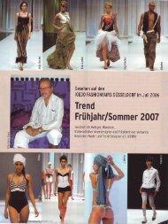 Trends Sommer 2007 - VDMD