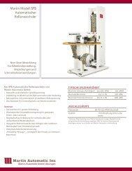 Martin Modell STS Automatischer Rollenwechsler - Martin Automatic ...
