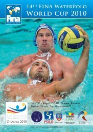 14th FINA WaterPolo World Cup 2010