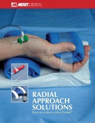 RADIAL APPROACH SOLUTIONS - Merit Medical