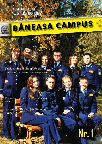 """BĂNEASA CAMPUS - Academia de Poliţie """"Alexandru Ioan Cuza"""""""