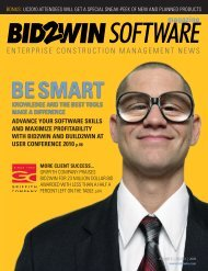 Issue 3 - BID2WIN Software Inc.