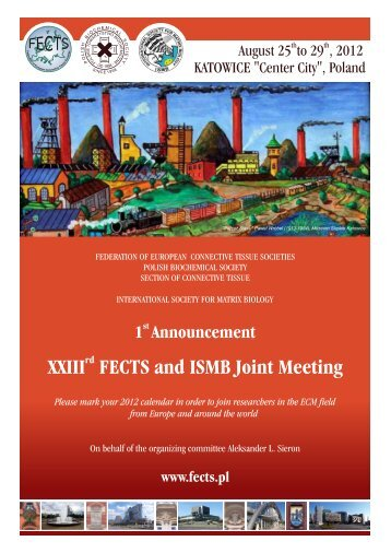 rd XXIII FECTS and ISMB Joint Meeting - International Society for ...