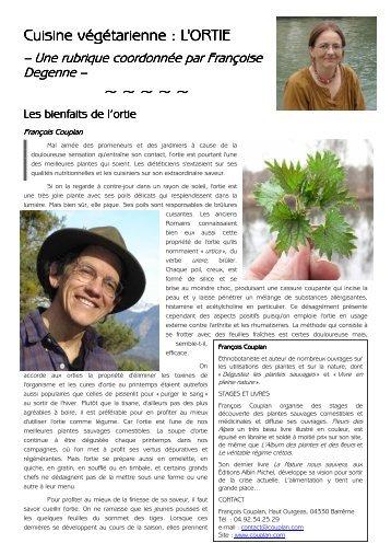 Cuisine végétarienne - Association Végétarienne de France