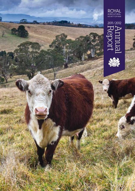 A n nu al R ep ort - Royal Agricultural Society of NSW
