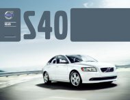 Klik her for at downloade Volvo S40 brochure som pdf