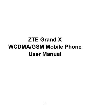 zte grand x 4 user manual you offer