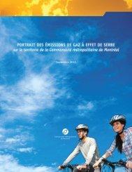 Portrait des émissions de gaz à effet de serre sur le territoire de la ...