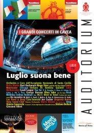07/2011 - Auditorium Parco della Musica