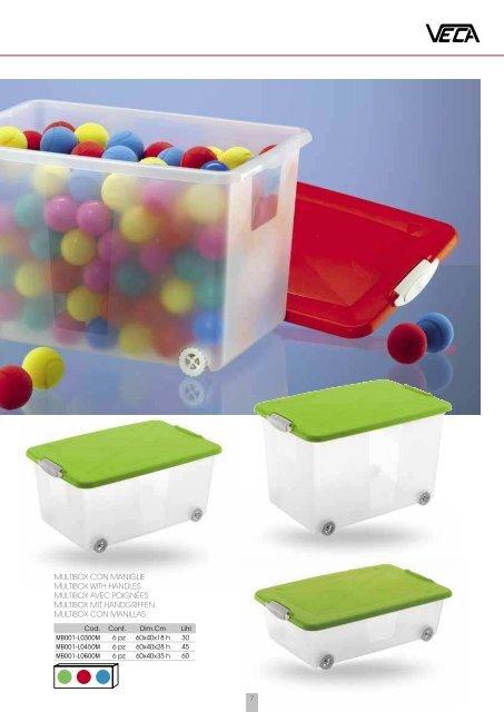 Veca Spa Box Doccia.Storage Multibox Cod Con