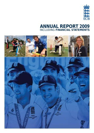ANNUAL REPORT 2009 - Ecb - England and Wales Cricket Board
