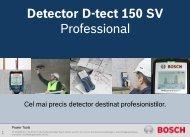 Detector D-tect 150 SV Professional