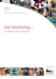 Der Ateliertag - ein Modell für die Grundschule - ÖZBF