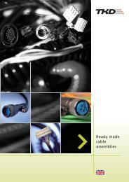 Ready made cable assemblies - TKD-KABEL | Продукция