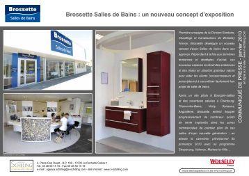Brossette Salles De Bains Baignoire Asymtrique Droite Matea