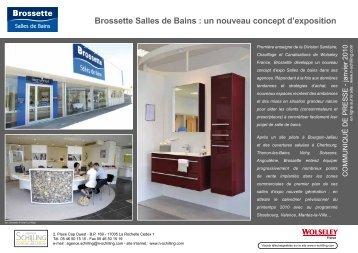 Brossette Salles de Bains - Agence Nicole Schilling Communication