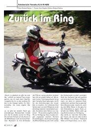 Fahrbericht Yamaha XJ 6 N ABS - Kultourbikes.de