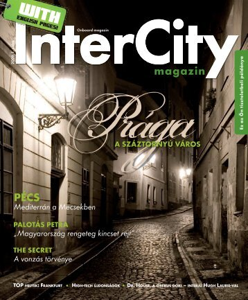 InterCity Magazin 2009/tavasz