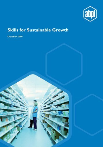 Skills for Sustainable Growth - Association of the British ...
