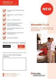 Garantie Plus2 - AGVS