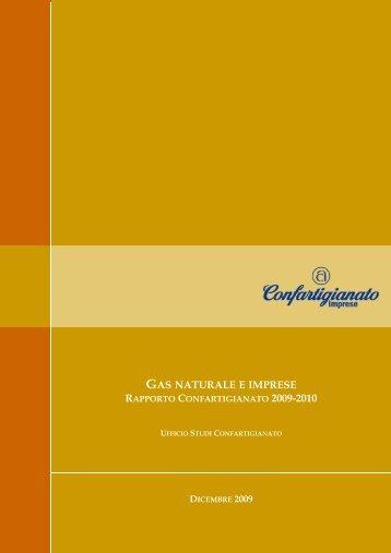 rapporto confartigianato gas imprese 2009 - Lapam