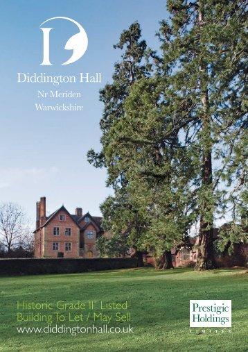Diddington Hall