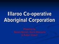 Illaroo Co-operative Aboriginal Corporation Inc - NCOSS