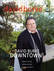 dAvId BURKE - HauteLife Press