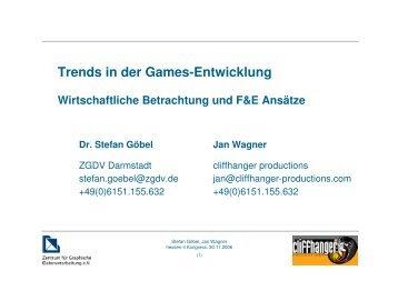 Trends in der Games-Entwicklung - hessen-it