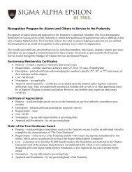Awards Recognition Descriptions
