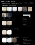 Pre-Fabricated Countertops Collection.pdf - Page 3