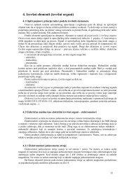 4. Izvršni elementi (izvršni organi) -