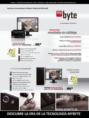 DESCUBRE LA ERA DE LA TECNOLOGÍA MYBYTE - MYBYTE.ES