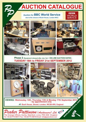 Download Catalogue - Peaker Pattinson (Auctioneers) Ltd